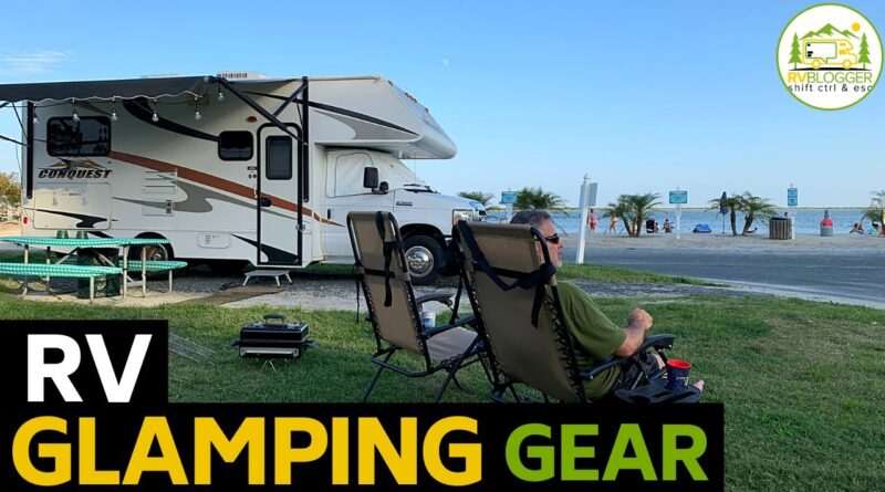 RV Glamping Essentials for Newbies