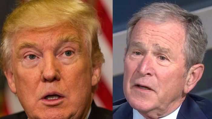 George W. Bush Reveals Who He Voted For In Presidential Election Last Year