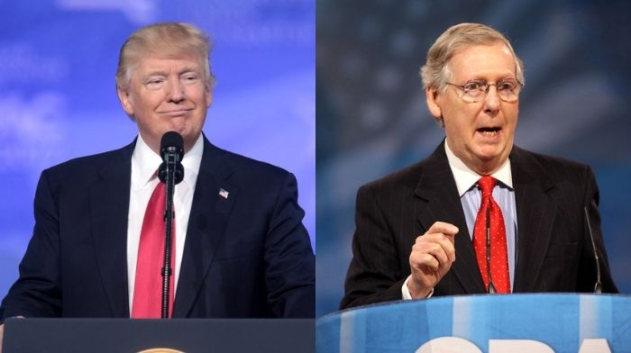 Trump Tells GOP: Ditch Mitch McConnell And Get New Leadership