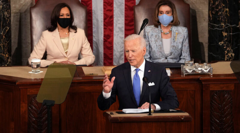 Biden's Speech Calls for U.S. to Take On China and Russia