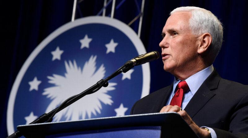 Pence Speaks Fondly of Trump in First Speech of Biden Era