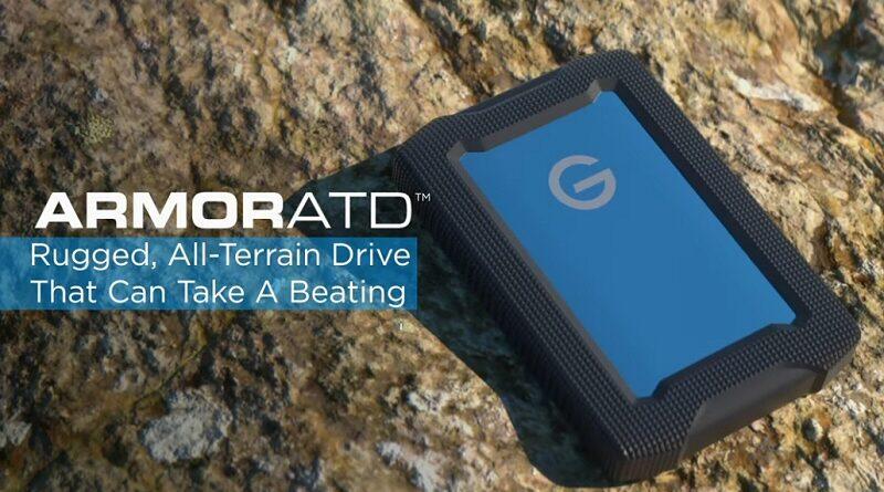 All-Terrain Back-Up. G-Technology ArmorATD | Professional Photo Magazine