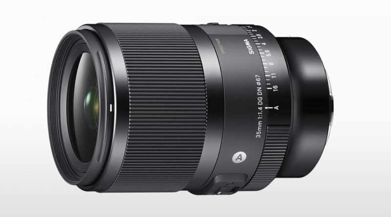 Sigma Introduces 35mm F1.4 DG DN Prime For Mirrorless