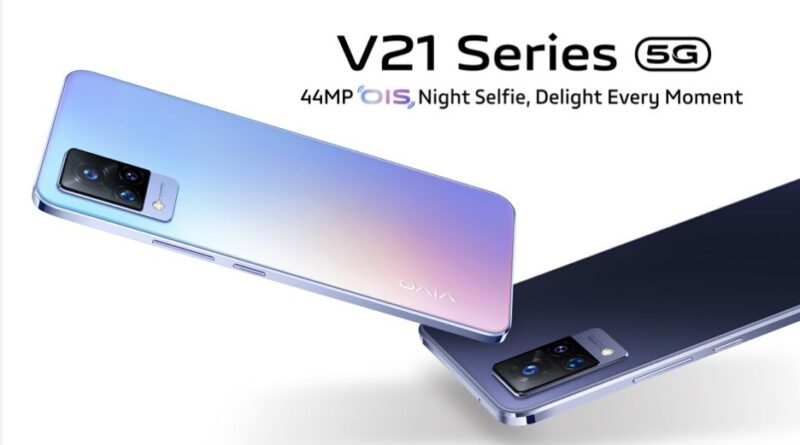 Vivo V21 targets selfie-shooters and vloggers with optically stabilised 44-megapixel selfie camera