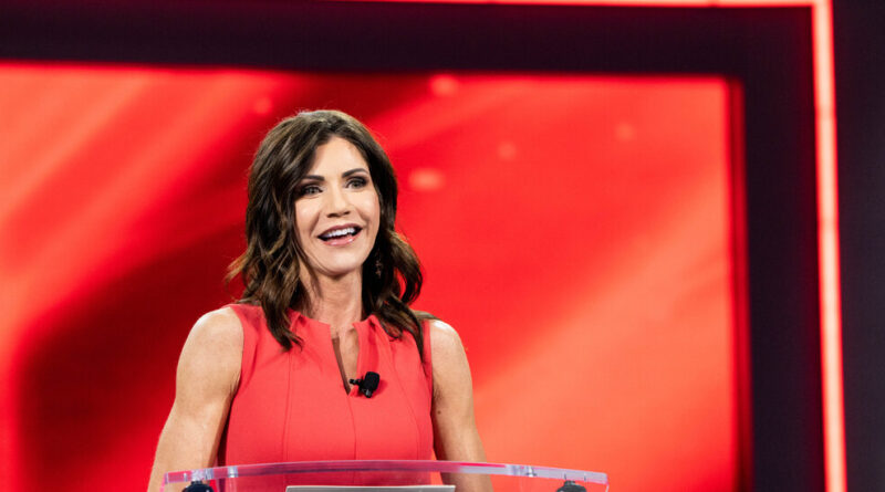 Why Kristi Noem Is Rising Quickly as a Republican Prospect for 2024
