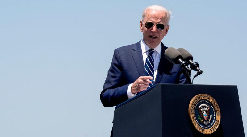 Biden to Address Economy as G.O.P. Takes Aim at Jobless Benefits