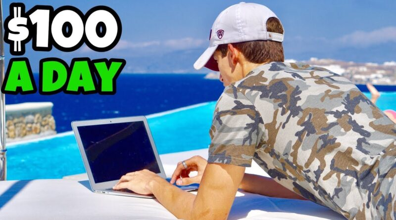How To Make $100 A Day From Bed | Ricky Gutierrez