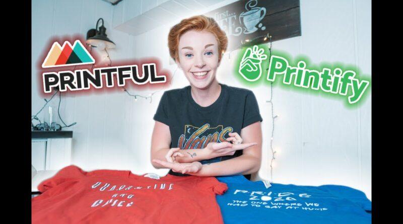 PRINTFUL vs. PRINTIFY | Why I'm Switching… (Print On Demand Fulfillment)