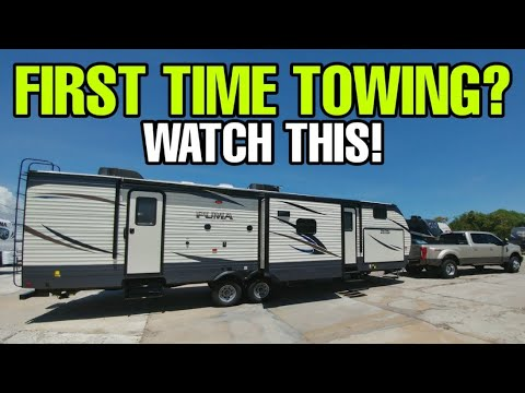FIRST TIME TOWING AN RV? Watch this first! Travel Trailers and Fifth Wheels!
