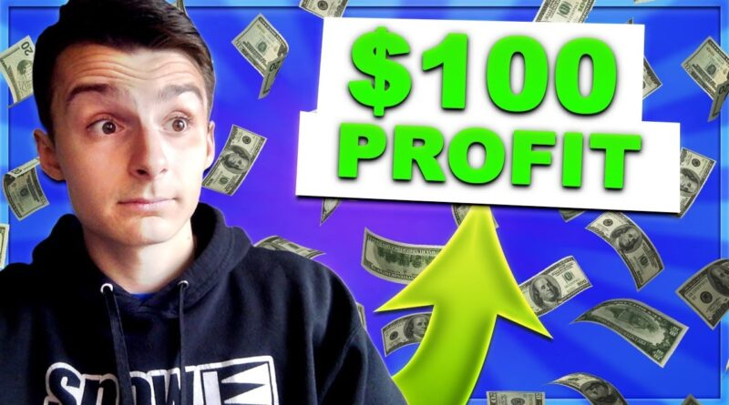 How I Made My First $100 On Webull (PROFIT)