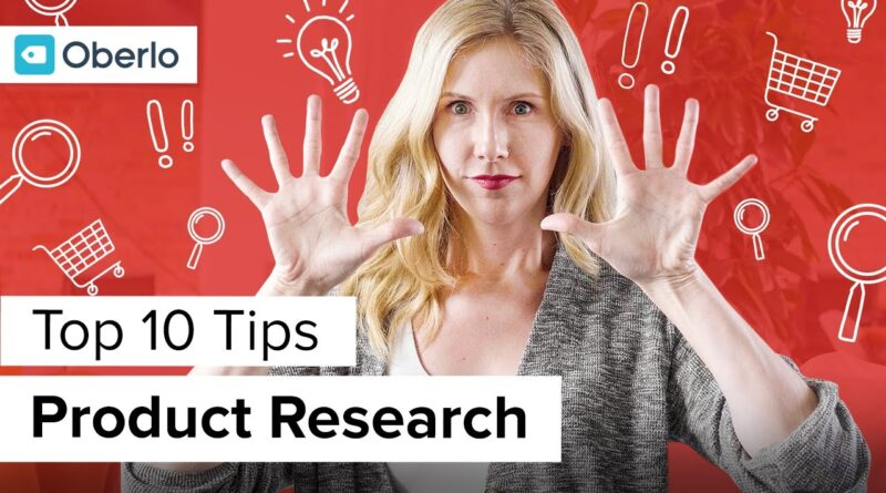 Top 10 Product Research Tips from 6-Figure Oberlo Dropshippers