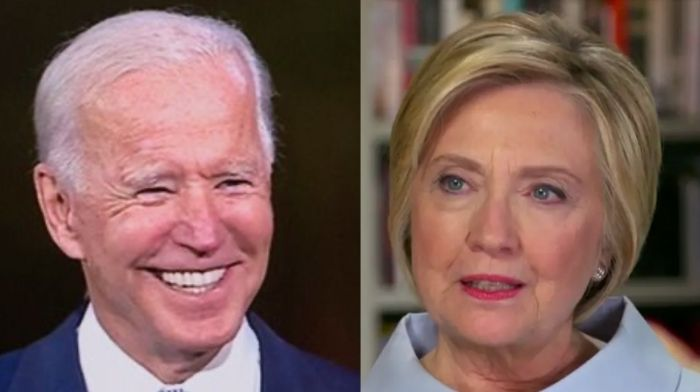 Hillary Clinton Gives Biden An 'A' Grade – Says We Don't Need To Worry President Will Say 'Drink Bleach'