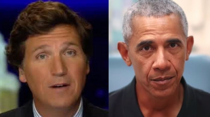 Tucker Carlson Blasts Barack Obama As A 'Creepy Old Man'