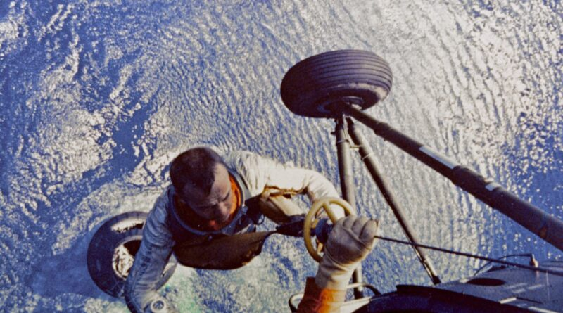 Alan Shepard Completes His Mission