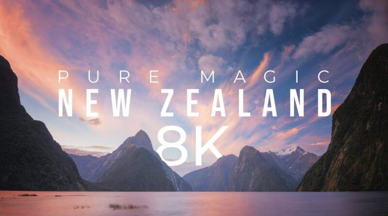 This incredible 8K timelapse shows off the breathtaking diversity of New Zealand's landscape