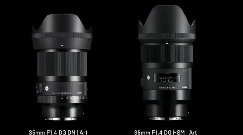 Sigma releases 35mm F1.4 DG DN Art for Mirrorless Cameras