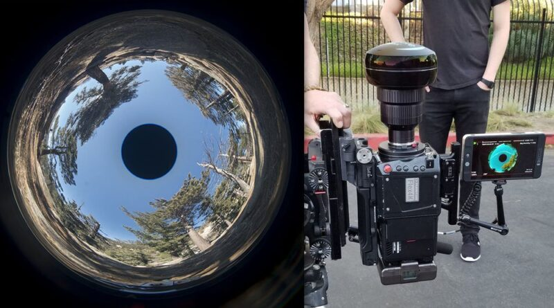 This crazy lens lets you shoot full 360° photos and video with the need for stitching