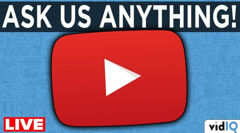 How to Get More Views and Subscribers… LIVE Q&A!