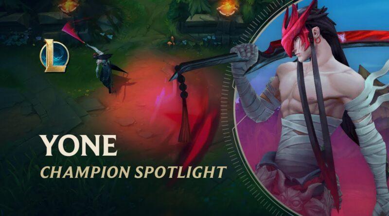 Yone Champion Spotlight | Gameplay – League of Legends