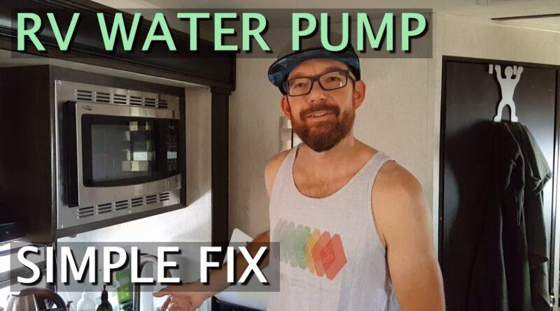 RV Water Pump Fix for Newbies (By a Newbie)