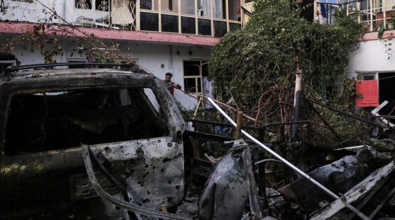 U.S. Strikes Explosive-Laden Vehicle in Kabul