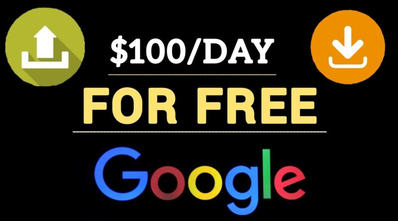 Make $100 PER DAY UPLOADING FREE GOOGLE IMAGES IN 2020 | How To Make Money Online