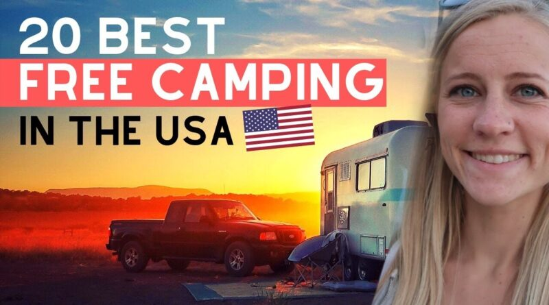 20 Best Free Camping Spots in USA | 2020 UPDATE