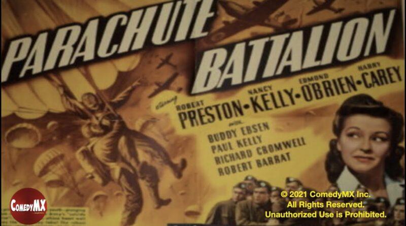 Parachute Battalion (1941) | Full Movie | Robert Preston | Nancy Kelly | Edmond O'Brien