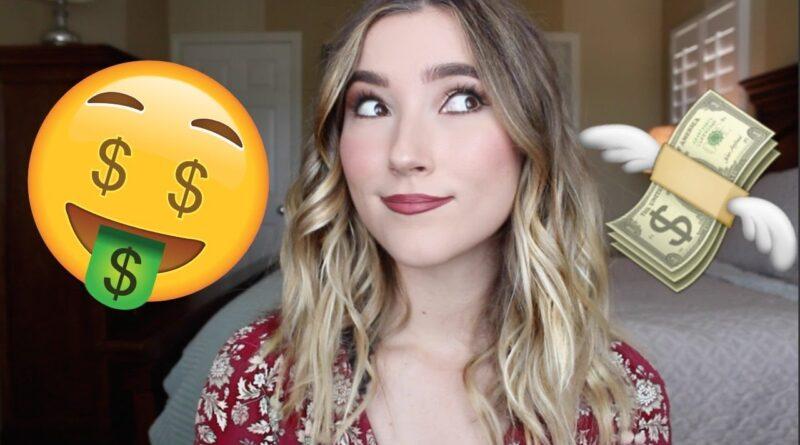 How I Make Money As a Small YouTuber / YouTube Money Hacks