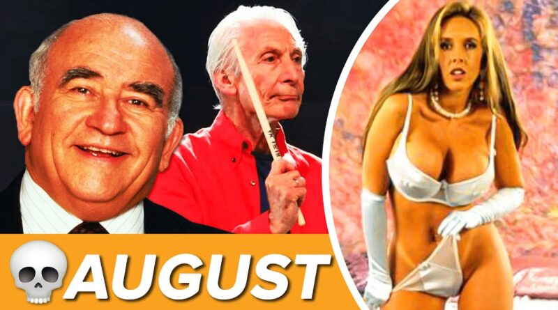 Celebrities Who Died in August 2021 (Tragic Deaths)