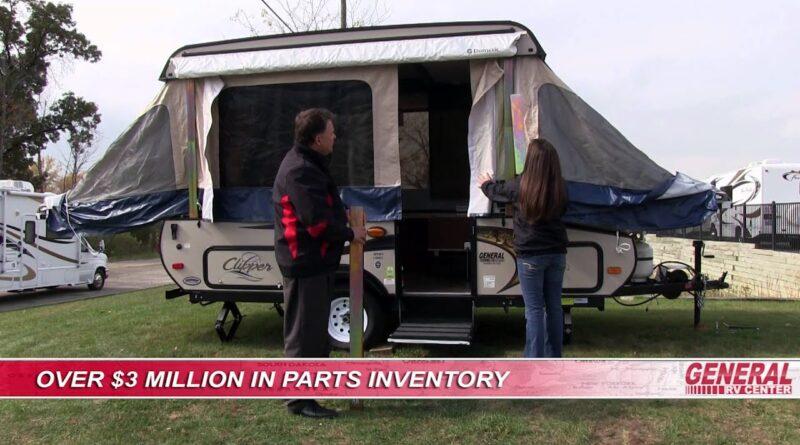 General RV Center | How To Set Up a Folding Pop-Up Camper