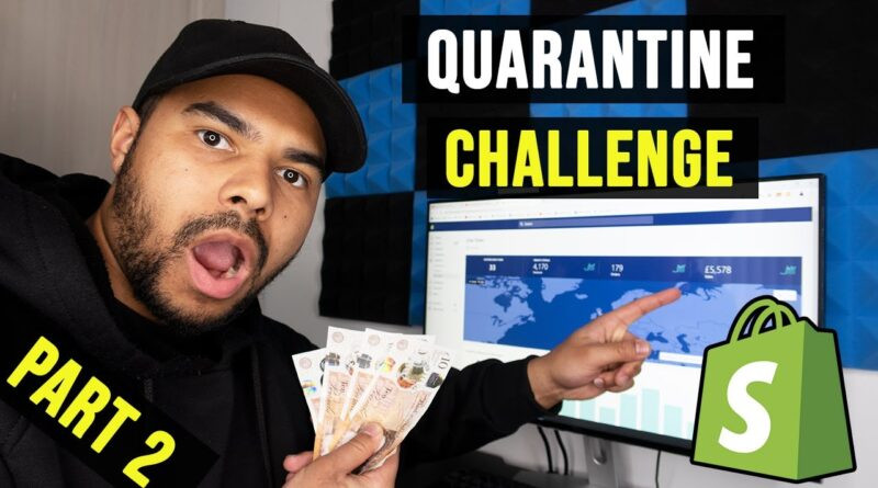 Dropshipping $100 Into $70,000 In 14 Days Shopify Challenge (PART 2)