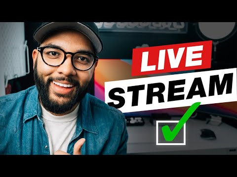 Live Streaming Made EASY For Anyone! (10 Tips For Beginners)