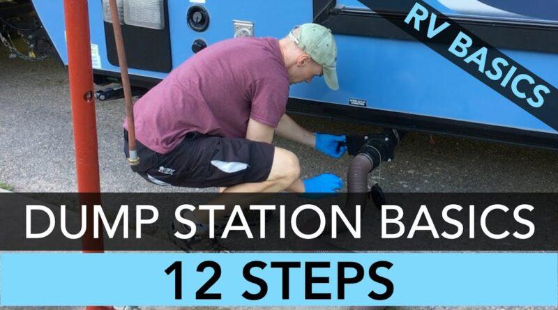 RV Dump Station Basics for Beginners
