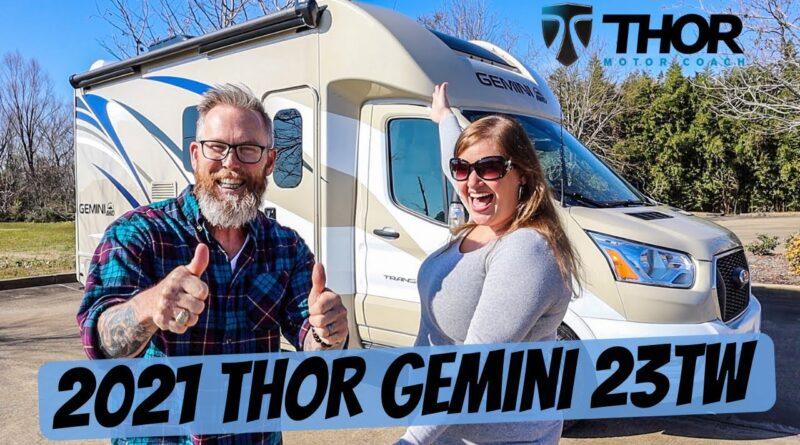 2021 Thor Gemini 23TW RV Tour