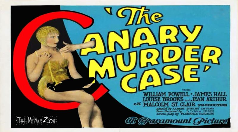 The Canary Murder Case 1929 Full Movie No Sub