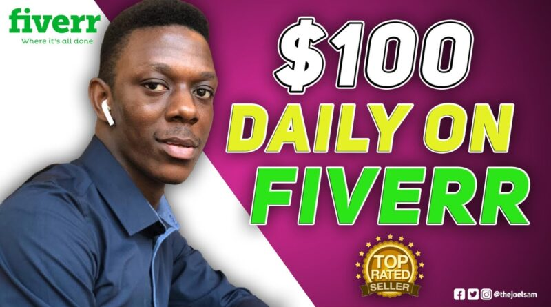 HOW I MAKE $100 A DAY ON FIVERR || MY DAILY FIVERR ROUTINE