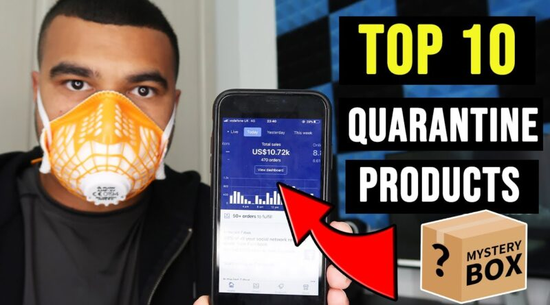 TOP 10 DROPSHIPPING PRODUCTS TO SELL RIGHT NOW