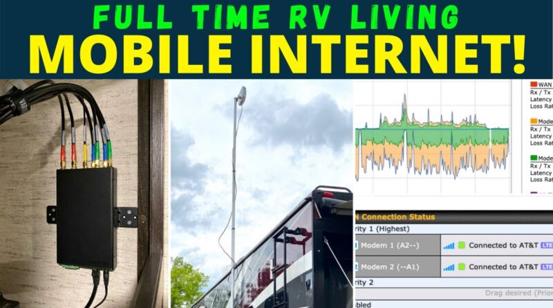📶  AWESOME Mobile Internet! || Working from the Road Full Time! [2020]