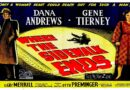 Where the Sidewalk Ends 1950 — A Mystery / Crime Movie Trailer