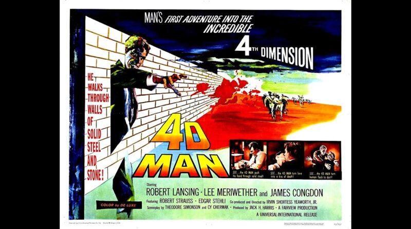 4D Man 1959 – A Sci-fi / Horror Movie Trailer