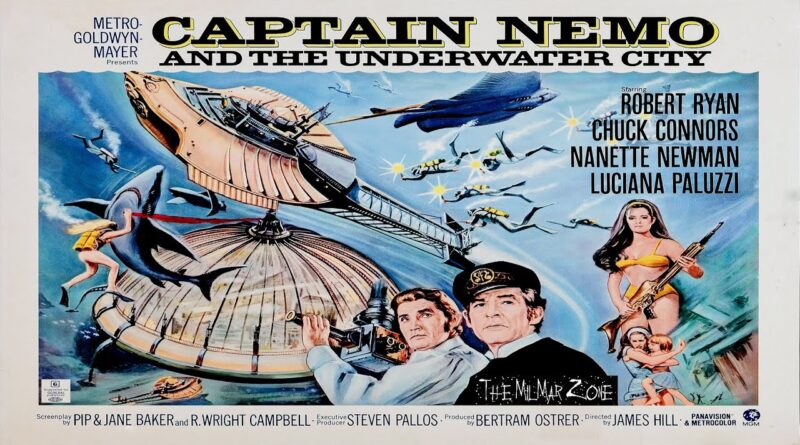 Captain Nemo and the Underwater City (1969)  — A Sci-fi / Horror  Movie Trailer