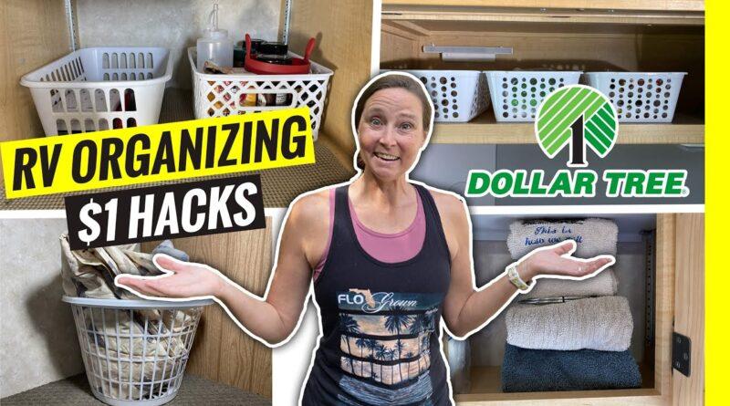 RV Organization & Storage $1 HACKS for RV Living