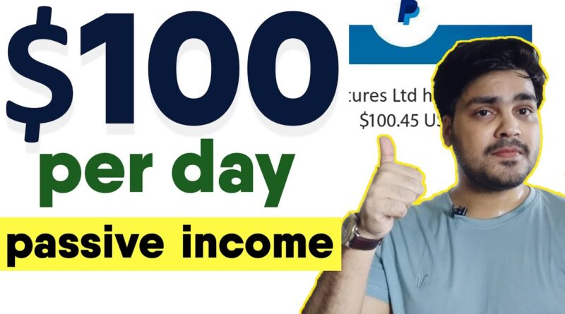 Earn $100 USD PER DAY| Make Money Online | Work From Home | Earn Money Online | passive income