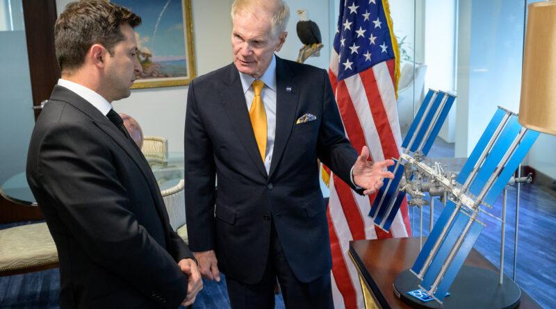 NASA Administrator Statement on Meeting with Ukrainian President