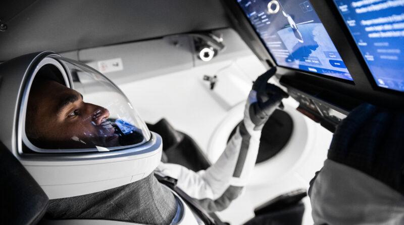 Raja Chari Trains for SpaceX Crew-3 Mission