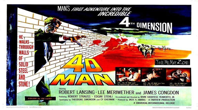 4D Man 1959 — A Sci-fi / Horror Full-Length Movie