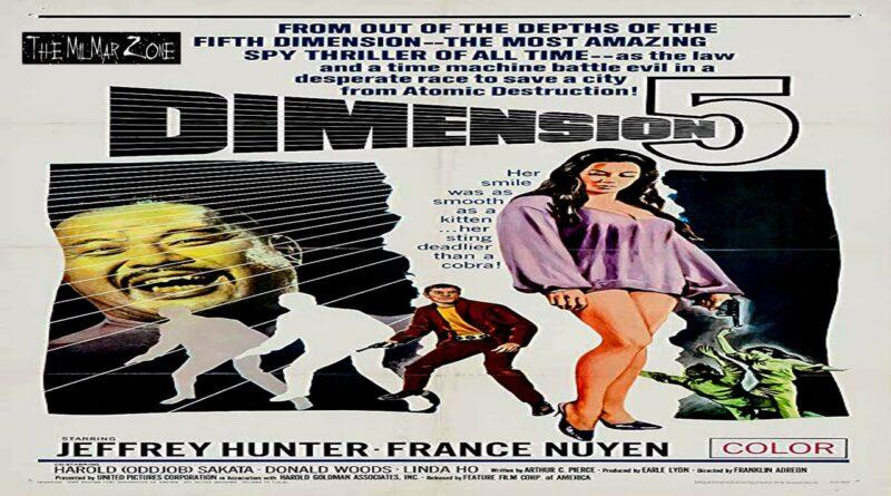 Dimension 5 1966  — A Time Travel Movie Trailer
