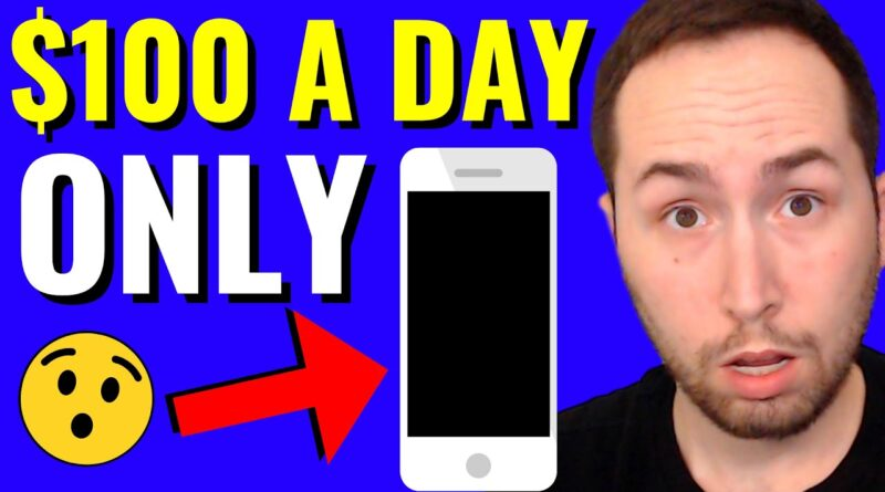 Make $100 a Day on ClickBank Only Using Your Phone