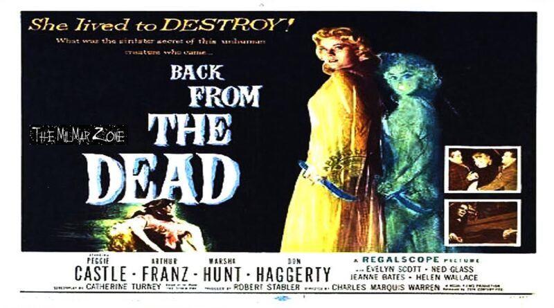 Back From The Dead 1957  Trailer